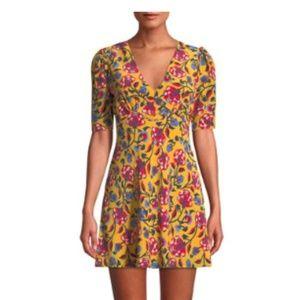 Saloni - Corrine Silk Dress